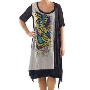 Plus Size Asymmetrical Summer Dress - La Mouette
